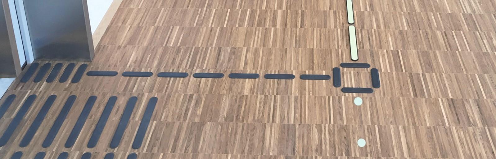 Kombinerte ledelinjer fra Smart Tactiles og Smart Signs